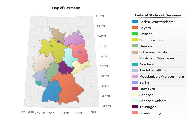 Chart: Germany's happiest regions | Statista |Germany Regions Graph Chart