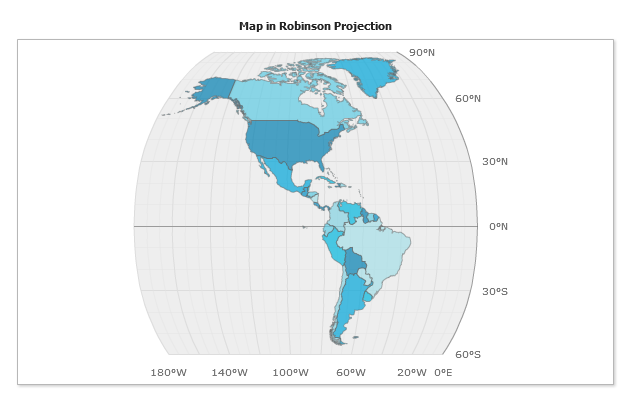robinson map projection